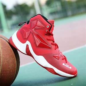 Men Basketball Shoes Lebron James Shoes Plus Size 39-45 ...
