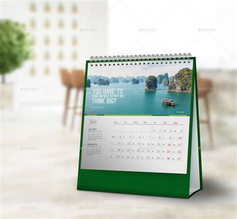 desk calendar mockups square dimension styles backgrounds