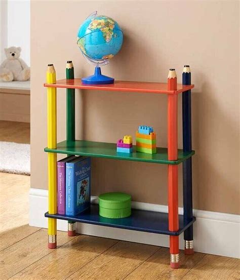 Child Bookcase Storage by Pencil Bookcase Book Shelf Shelves Solid Wood Cd Dvd