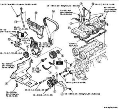 Engine Diagram Mazda Fixya