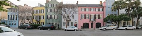 Rainbow Row In Charleston Sc  Free Tours By Foot