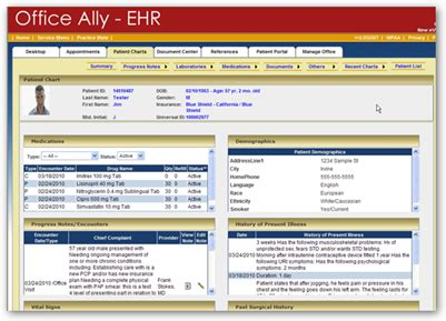 Office Ally by Office Ally Ehr Web Based Software A Simple And Easy