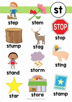 blends worksheets and activities st by lavinia pop tpt