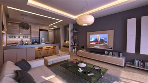 Wohnzimmer Mit Küche Ideen by Junggesellenwohnung 70 Wohnzimmer Ideen