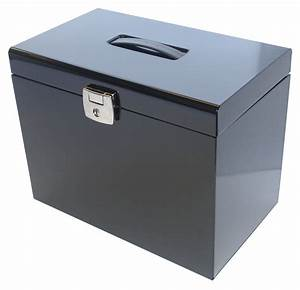 a4 metal file filing box home office storage lockable 5 With free web document storage
