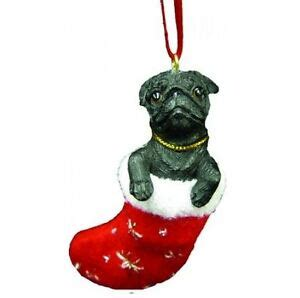annapolis maryland black dog christmas ornament pug black santa s pals ornament ebay