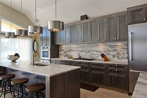 24 grey kitchen cabinets designs decorating ideas With kitchen cabinet trends 2018 combined with custom hologram stickers