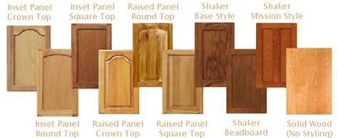 cabinet door styles names nicely done kitchens baths your one stop shop