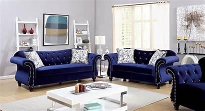 Sofa Tufted Furniture Fabric Jolanda America
