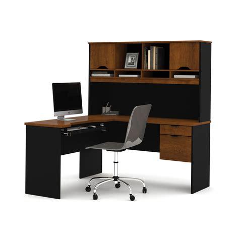 office max l shaped desk bestar innova l shape computer desk with hutch reviews
