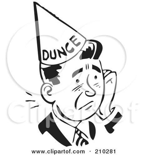 Dunce Hat Template by Fireman Hat Pattern