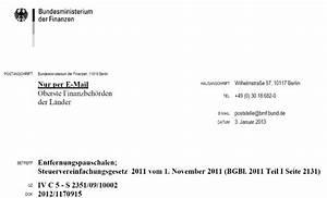 Rechnung Fahrtkosten : neues bmf schreiben zur entfernungspauschale pendlerpauschale 2013 ~ Themetempest.com Abrechnung