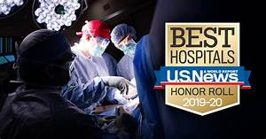 University of Wisconsin Hospitals Among Nation's Top 20 in ...