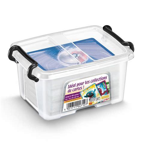 trieur bureau cep strata boite de rangement plastique 0 4 litres boîte