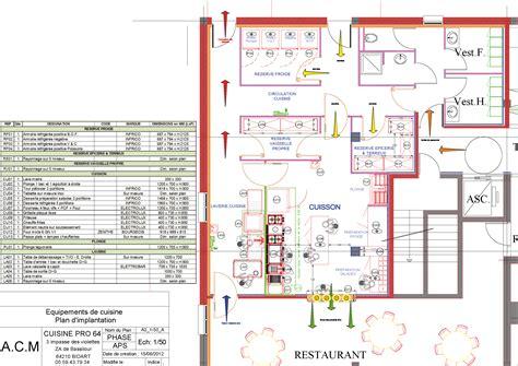 plan cuisine moderne plan cuisine professionnelle gratuit 28 images cuisine