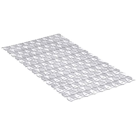 tapis antid 233 rapant transparent pour baignoire fish