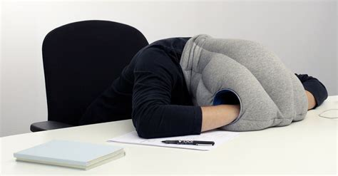 coussin chaise bureau desktop nap pillow is for catching zzzs on the
