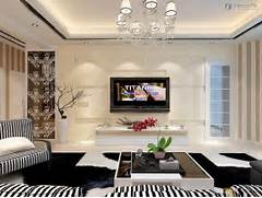 Example Design Of Divider For Living Room by New Modern Living Room TV Background Wall Design Pictures Homes And Rooms 2