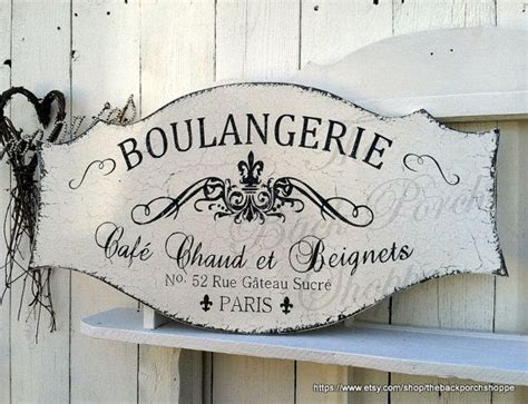 boulangerie french signs kitchen signs french bakery