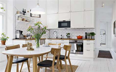 cuisine nordique aménagement décoration cuisine nordique