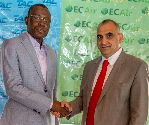 jean louis osso african aerospace ecair launches brazzaville beirut service