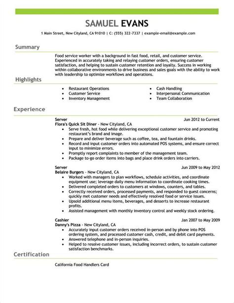 Title For Resume by Free Resume Exles By Industry Title Livecareer