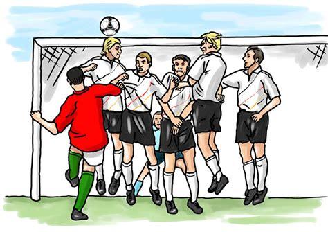 kuenstler illustrationen fussball