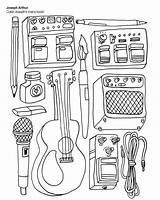 Coloring Elvis Colouring Rock Sheets Indie Adult Presley sketch template