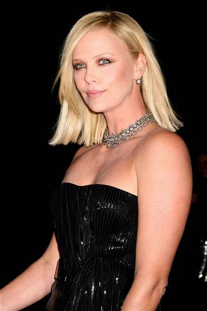 Theron Charlize Hairstyle Celebrity Hairstyles Short