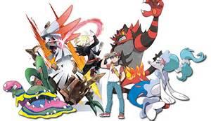 Moon and Sun Pokemon Team