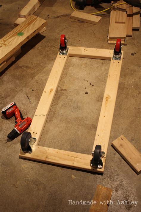 diy mobile lumber rack plans  rogue engineer