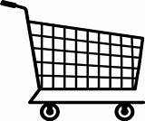 Grocery Shopping Clipart Clip Walmart Coloring Clipartkid sketch template