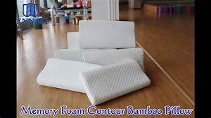cheap wholesale custom aloe vera bamboo memory foam pillow With best cheap memory foam pillow