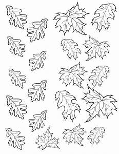 pin leaf template printable martha stewart kayaks canoe With martha stewart leaf template