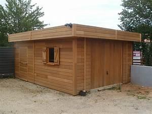 realisations garages en bois sur mesure sodibat With garages en bois prefabriques