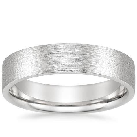 s 5mm flat matte comfort fit wedding ring brilliant earth