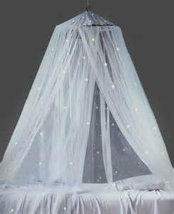 Glow in the Dark Canopy Bed Curtains
