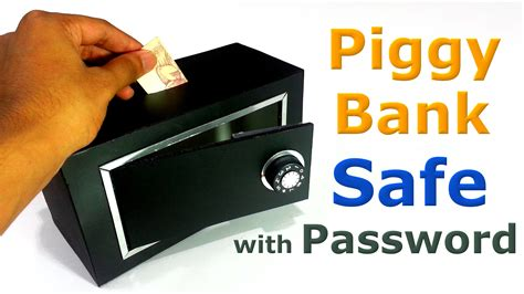 How To Make Piggy Bank Safe Youtube