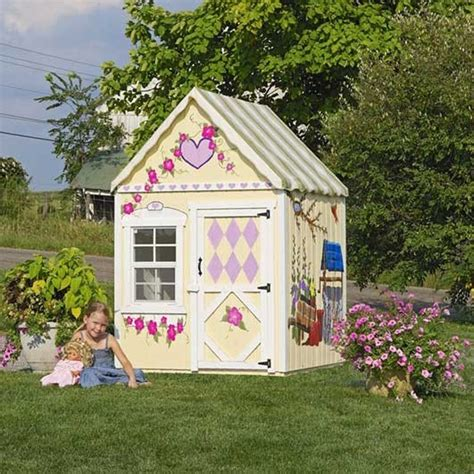 playhouse kits amish made 4x4 sweetbriar playhouse w floor kit playhouse kits playhouses and kids play spaces