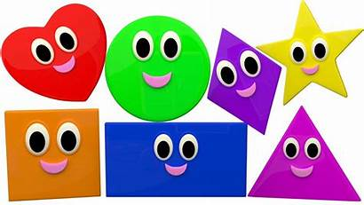 Shapes Song Tv Learn Songs Rhymes Children