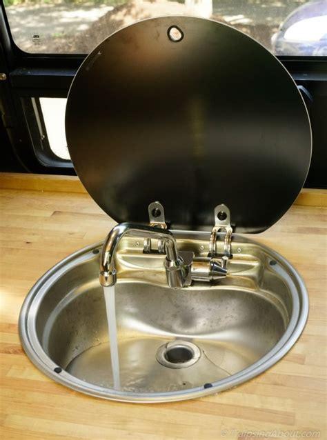 rv sinks kitchen favorite upgrades to our sprinter cer buildout 2081