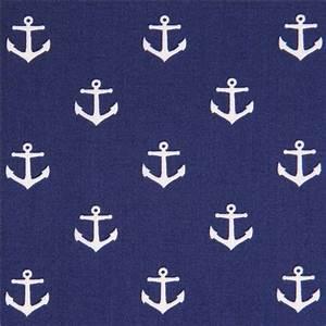 Was Bedeutet Maritim : marineblauer anker muster maritim stoff von dear stella usa maritime stoffe stoffe shop modes4u ~ Markanthonyermac.com Haus und Dekorationen