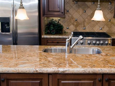 Select from premium kitchen countertop images of the highest quality. Neutral Granite Countertops | HGTV