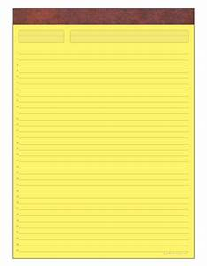 business pads letter and legap pads writing pads as seen With yellow letter paper
