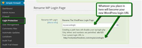 Rename The Wordpress Login Page (wp-login.php