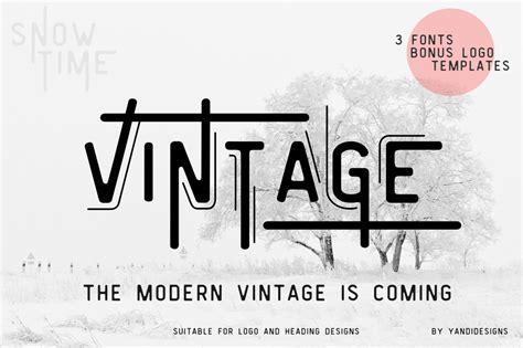 font decor vintage modern typeface display fonts creative market