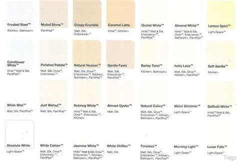 dulux white colour chart google search paints paint