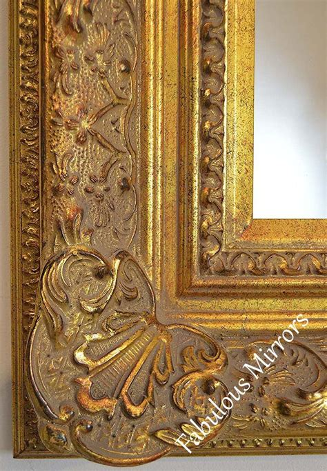 decorative antique gold wall mirror full range  sizes