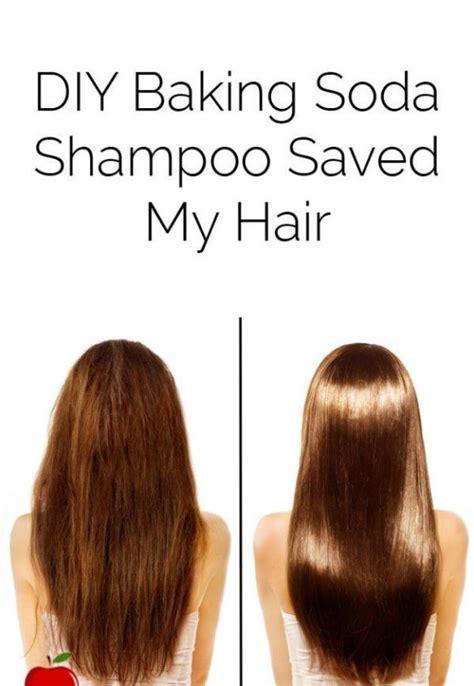 diy baking soda shampoo  save  hair