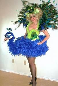 Karnevalskostüme Damen Selber Machen : diy kleidung karnevalskost me vogel pfau kost m ~ Lizthompson.info Haus und Dekorationen